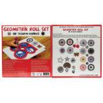Tes Geometrik Roll Set