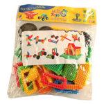 Hi-Q Toys Kaktüs Yapı Blokları Poşetli Zeka Oyunu