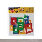 Hi-Q Toys Piramit Yapı Blokları Poşetli Zeka Oyunu