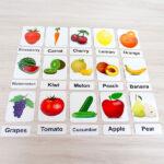 Okuling Fruits and Vegetables – Meyveler ve Sebzeler Magnet