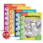 Dikkat Atölyesi Hidden Pictures Gizli Resimler 4'lü Set (6-10 Yaş)