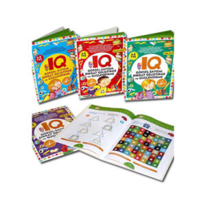 Çocuk Gezegeni - IQ Dikkat Geliştirme ve Güçlendirme Seti 6-8 Yaş - 5 Kitap