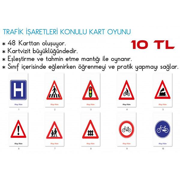 trafik-isaretleri-kart-oyunu