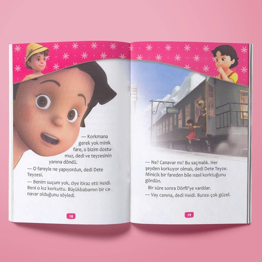 Çocuk Gezegeni Heidi Serisi - İç Sayfa 1