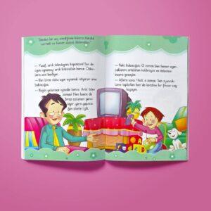 Çocuk Gezegeni Nasıl Davranmalıyım? Değerler Eğitimi Seti - İç Sayfa 1