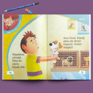 Çocuk Gezegeni Okuma Seti - Seviye 1 - İç Sayfa