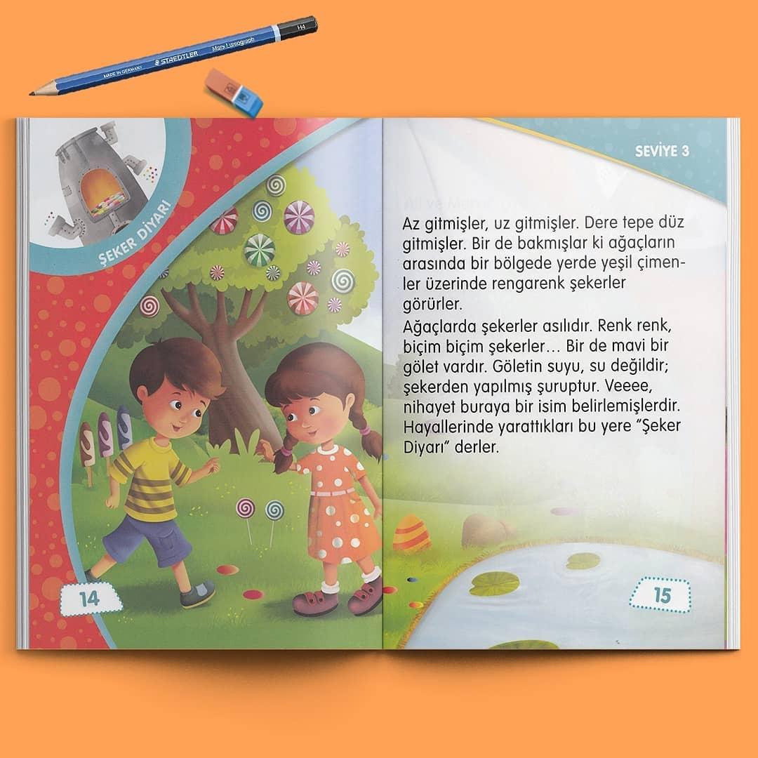 Çocuk Gezegeni Okuma Seti - Seviye 3 - İç Sayfa