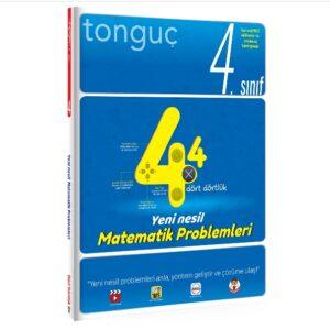 Tonguç Yayınları 4. Sınıf Dört Dörtlük Matematik 2020-2021 kitap kapağı
