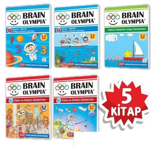 3-5 Yaş Evde Etkinlik Seti – Beyin Olimpiyatları