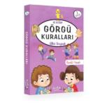 Pinokyo Yayınları 1. Sınıf Görgü Kuralları - Renkli Heceli (10 Kitap
