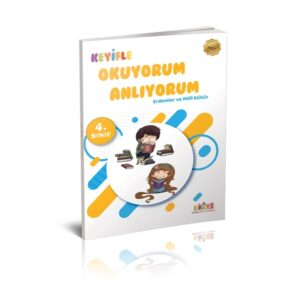 Kaliteli Eğitim Yayınları 4. Sınıf Keyifle Okuyorum Anlıyorum Erdemler ve milli kültür