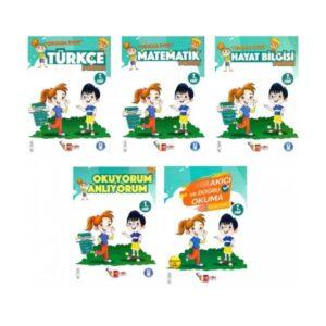 Artı Eğitim Yayınları 1. Sınıf Okulda Evde Okumayı Pekiştiren Eğitim Seti